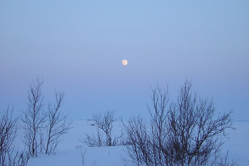 Coucher de soleil et lever de lune dun kratt raid au cap nord neiges d 39 ailleurs a fleur - Heure de lever et coucher de la lune ...